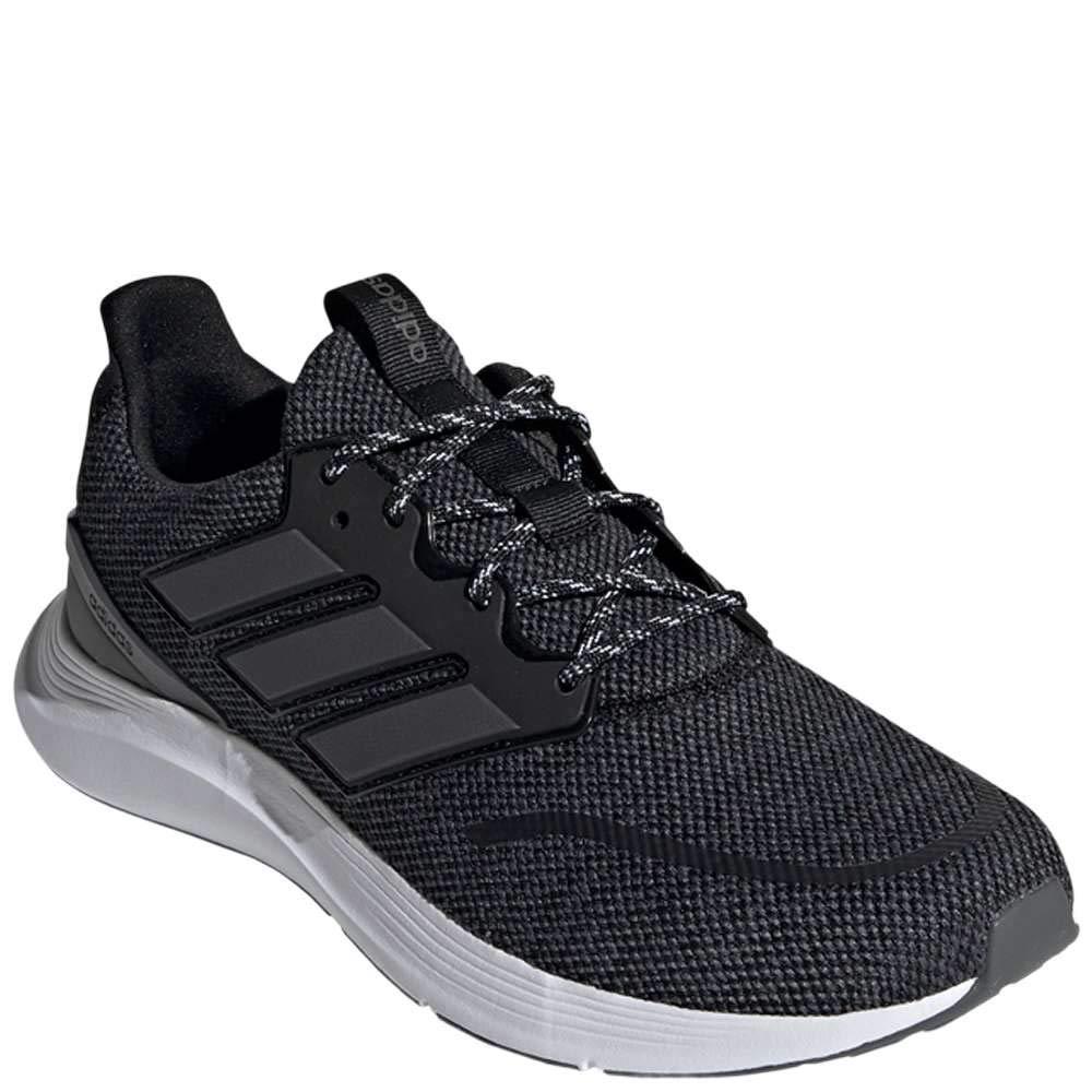 adidas Men's EnergyFalcon Running Shoe, Black/Grey/White, 13 M US by adidas