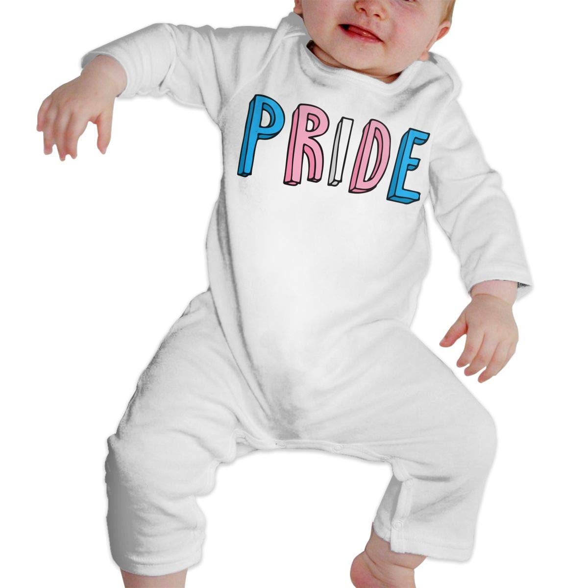Newborn Baby Long Sleeve Jumpsuit Transgender Pride Baby Clothes