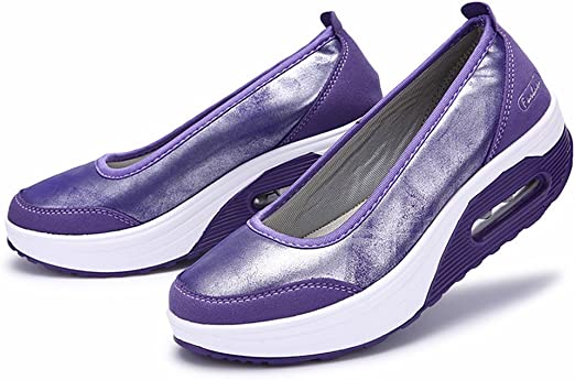 Zapatillas Deportivas Slip Fashion Cojín De Aire Para Mujer ...
