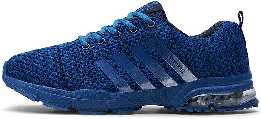 Zapatillas de Deportes Hombre Mujer Zapatos Deportivos Ocio Transpirable Colchón de Aire Running Zapatillas para Correr: Amazon.es: Zapatos y complementos
