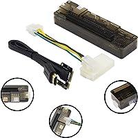 PCI-E EXP GDC Estación de acoplamiento externa de video para portátil, tarjeta gráfica, tarjeta de vídeo, portátil, estación de carga no empotrado para gráficos externos, versión mini PCI-E, Negro