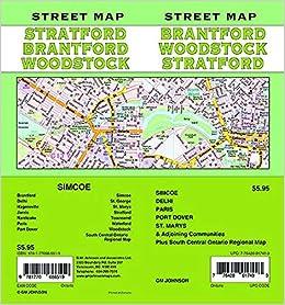 Brantford Stratford Woodstock Simcoe Ontario Street