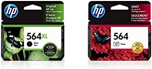 HP 564XL | Ink Cartridge | Black | CN684WN & 564 | Ink Cartridge | Photo | CB317WN