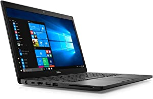 Dell Latitude 7480 Intel Core i5-6300U X2 2.4GHz 8GB 256GB SSD 14 inches, Black (Renewed)