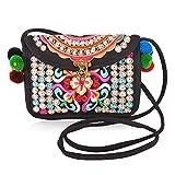 Vintage Embroidery Ethnic Handmade Mini Shoulder Crossbody Clutches Handbags