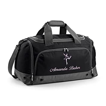 Personalised Embroidered Ballet Bag 44aec638edf68