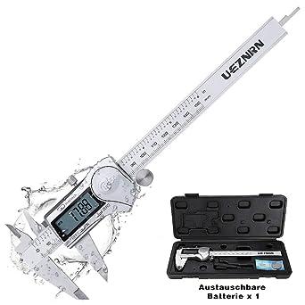 Favorit UEZNIRN Digitaler Messschieber 150mm / 6 Zoll Hochpräzise DG26