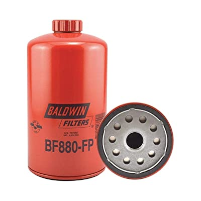 Baldwin Heavy Duty BF880-FP Fuel Filter,7-29/32 x 4-1/4 x 7-29/32 In: Automotive