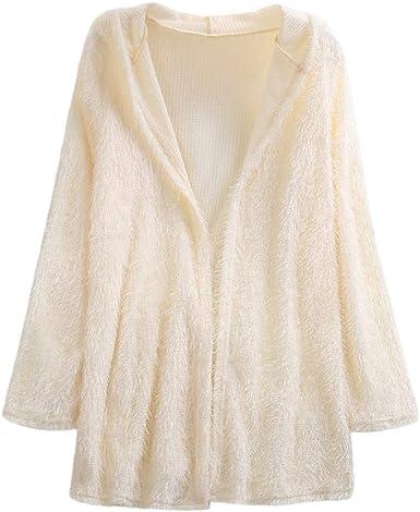 Btruely Herren Chaqueta Suéter Abrigo Jersey Mujer, Abrigo