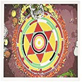 3dRose image of colorful hindu mandala - Greeting Cards, 6 x 6 inches, set of 6 (gc_171568_1)