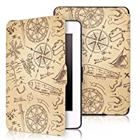 Capa Case Kindle Paperwhite WB® Auto Liga/Desliga  - Ultra Leve Adventure