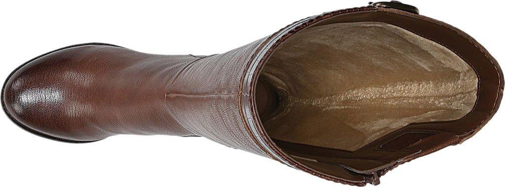 Naturalizer Women's Rozene Tall Boot B01MU5FUC3 4 B(M) US|Banana Bread Ontario Leather/Printed Croco