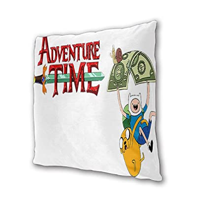 "Adventure Time with Finn and Jake Outdoor/Indoor Cushions 18.5""x 18.5"", 2 Pieces: Kitchen & Dining"