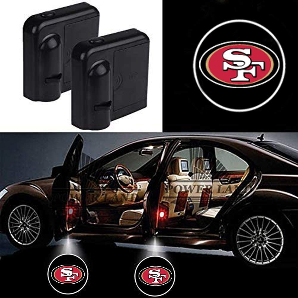 Fit Atlanta Falcons For Fit Atlanta Falcons Car Door Led Welcome Laser Projector Car Door Courtesy Light Suitable Fit for all brands of cars