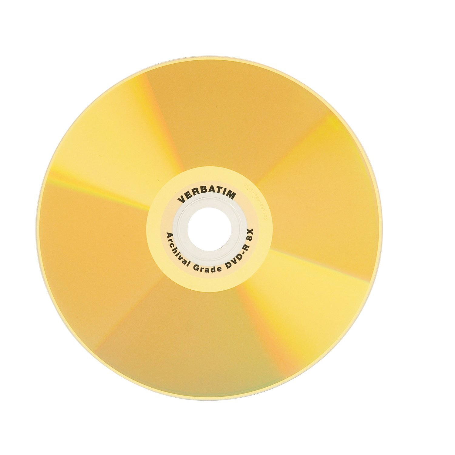 Verbatim DVD-R 4.7GB 8X UltraLife Gold Archival Grade Surface & Hard Coat - 50pk Spindle