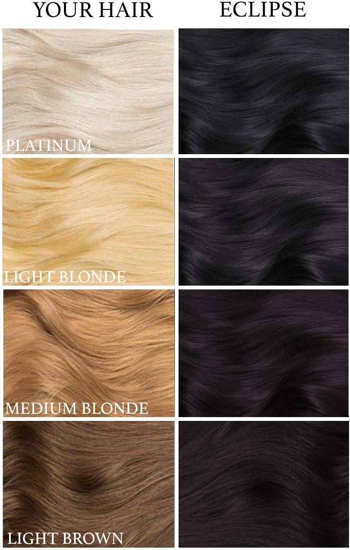Eclipse Black, tinte semi permanente para el cabello Negro - 118 ml - Lunar Tides