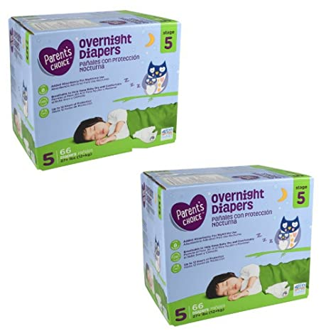 Amazon.com: Parents Choice Overnight Diapers (Size 6-58 Count, Pack of 4): Health & Personal Care