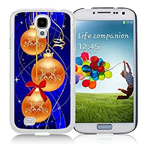 Customized Samsung S4 TPU Protective Skin Cover Merry Christmas White Samsung Galaxy S4 i9500 Case 55