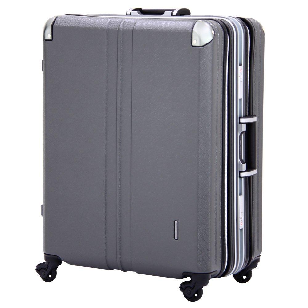スーツケース ビジネスキャリー 大容量 無料受託手荷物サイズ 158cm 以内 アウトレット 訳あり スーツケース ビジネスキャリー ビジネスバッグ キャリーバッグ キャリーノート M サイズ 5日 6日 7日 中型 ダブル拡張機能搭載 (ガンメタ)   B06ZZYBPWF