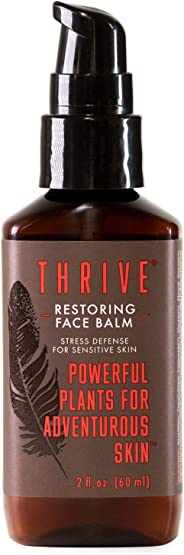 All Natural Face Cream for Sensitive Skin – Facial Moisturizer Restores, Protects Skin & Helps Soothe Irritation – Face Lotio