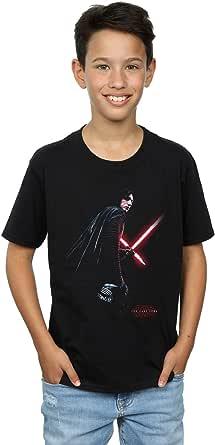 Star Wars niños The Last Jedi Kylo REN Shadow Camiseta