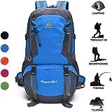 Women & Men Lightweight Hiking Backpack Daypack 40L Water Resistant Outdoor Travel Sport Camping Backpack