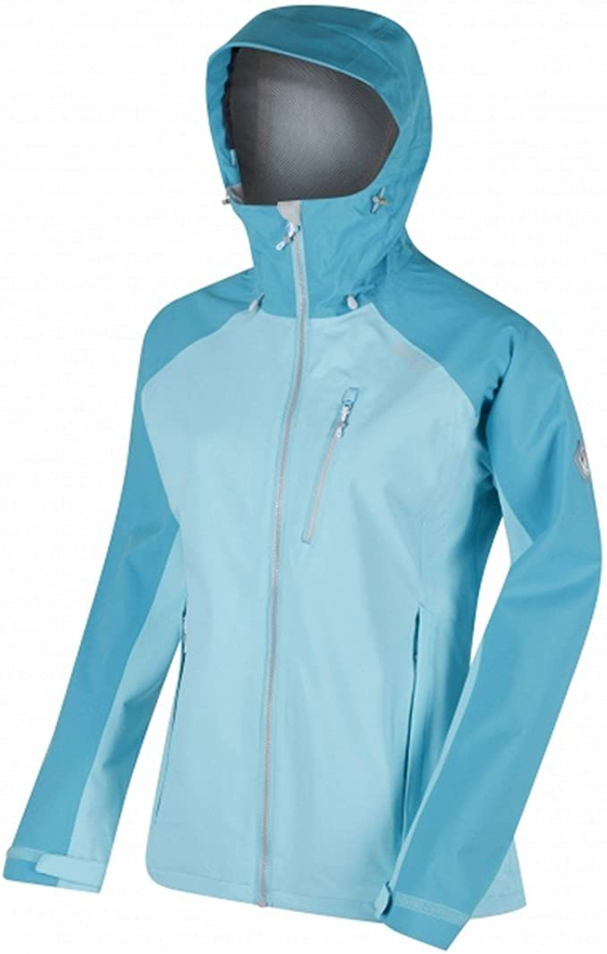 Regatta Womens Birchdale Waterproof Brethable Isotex 10000 Strech Fabric Durable Water Repellent Inner Zipped Security Pocket Jacket