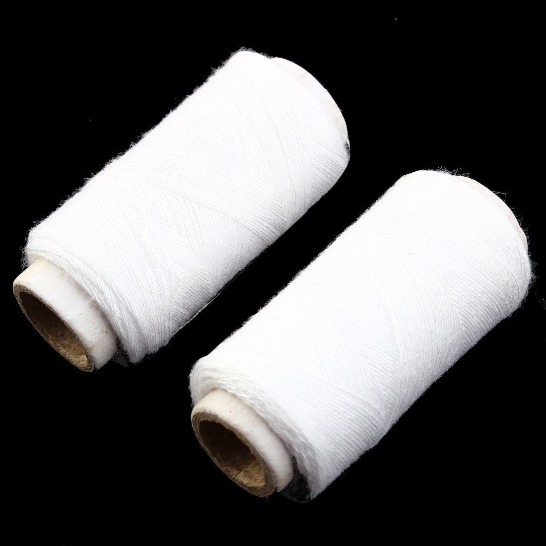 Amazon.com: eDealMax ropa Para el hogar edredón Elaboración de costura del Hilo de Coser Carrete de cordaje 10pcs Blanca