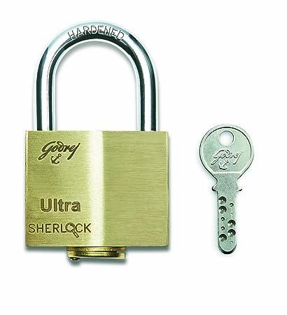 Godrej Locks Ultra Sherlock - 3 Keys (Blister)