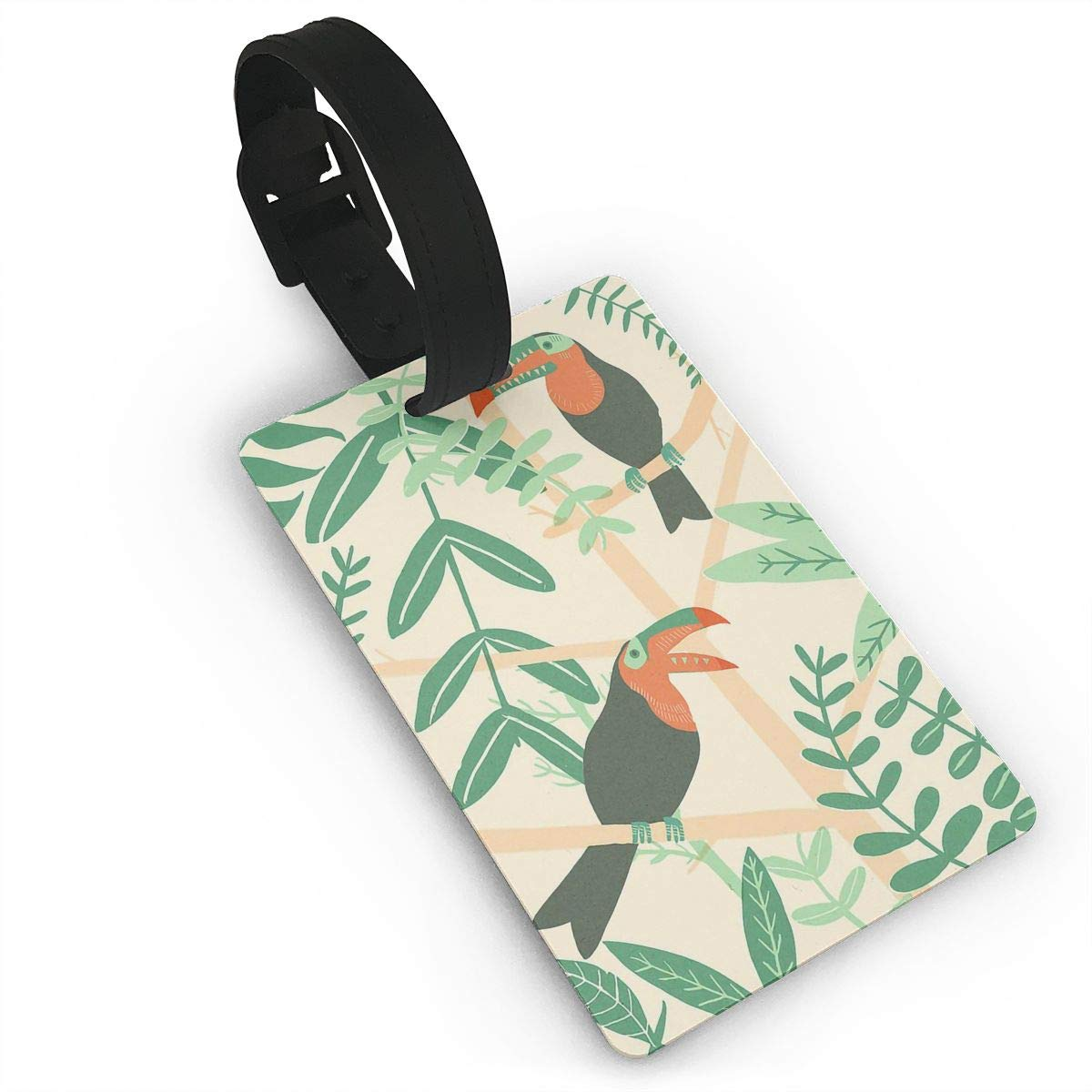 Toucans Handbag Tag For Travel Bag Suitcase Accessories 2 Pack Luggage Tags