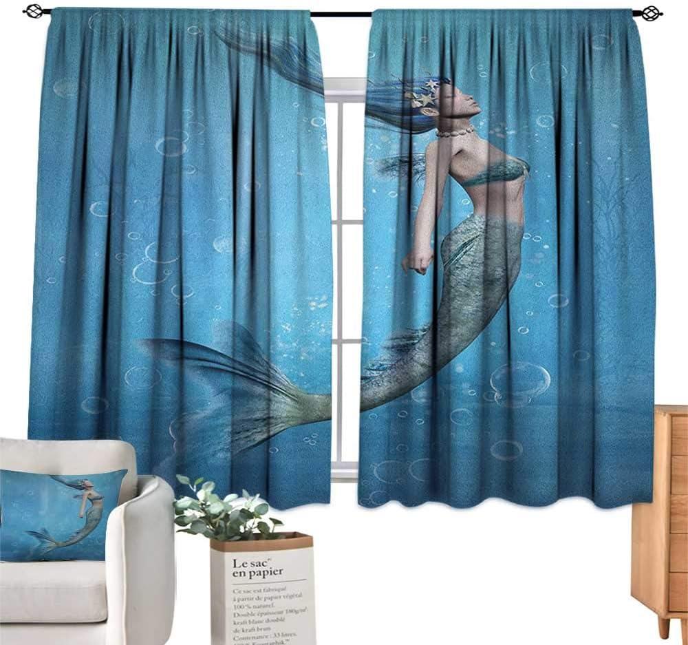 familytaste, Cortinas para Debajo del Agua con diseño de Sirenas ...