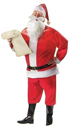 Amazon.com: Juego de traje de Papá Noel de 7 piezas para ...