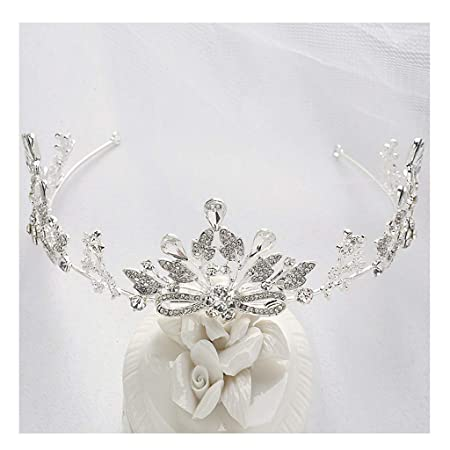 Corona de niña con Flores Anillo de Pelo Princesa Flor de ...