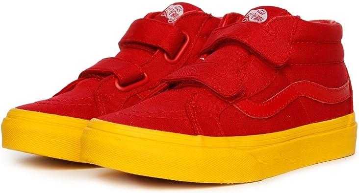Vans Preschool SK8-MID Reissue V RED