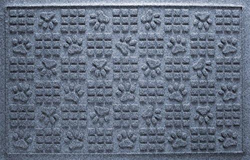 Cheap  Aqua Shield Dog Paw Squares Mat, 2 by 3-Feet, Bluestone