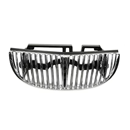 Amazon Com All Chrome Front End Grille Grill For 98 02 Lincoln Town
