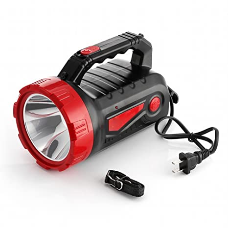 DEED Linterna Led Luz Recargable Hogar de Emergencia Al Aire Libre de Gama Larga Luces Portátiles