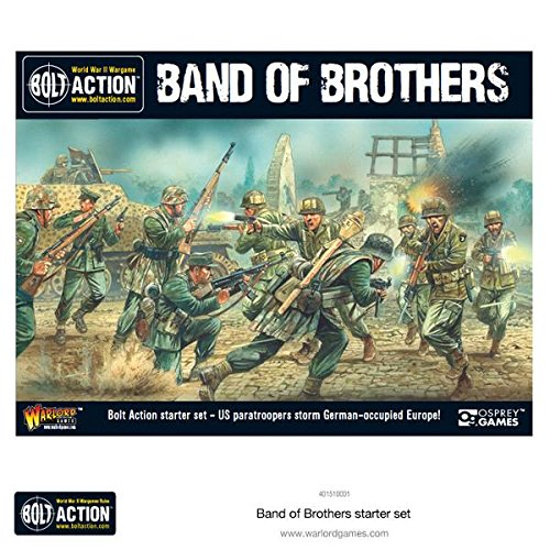 Bolt Action Band of Brothers WWII Wargames Starter Set (The Real Men Of Band Of Brothers)