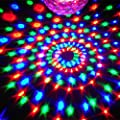 KLAREN 6 LED Color Changing Disco Dj Stage Lighting LED RGB Crystal Magic Ball Effect Light DMX Light KTV Party