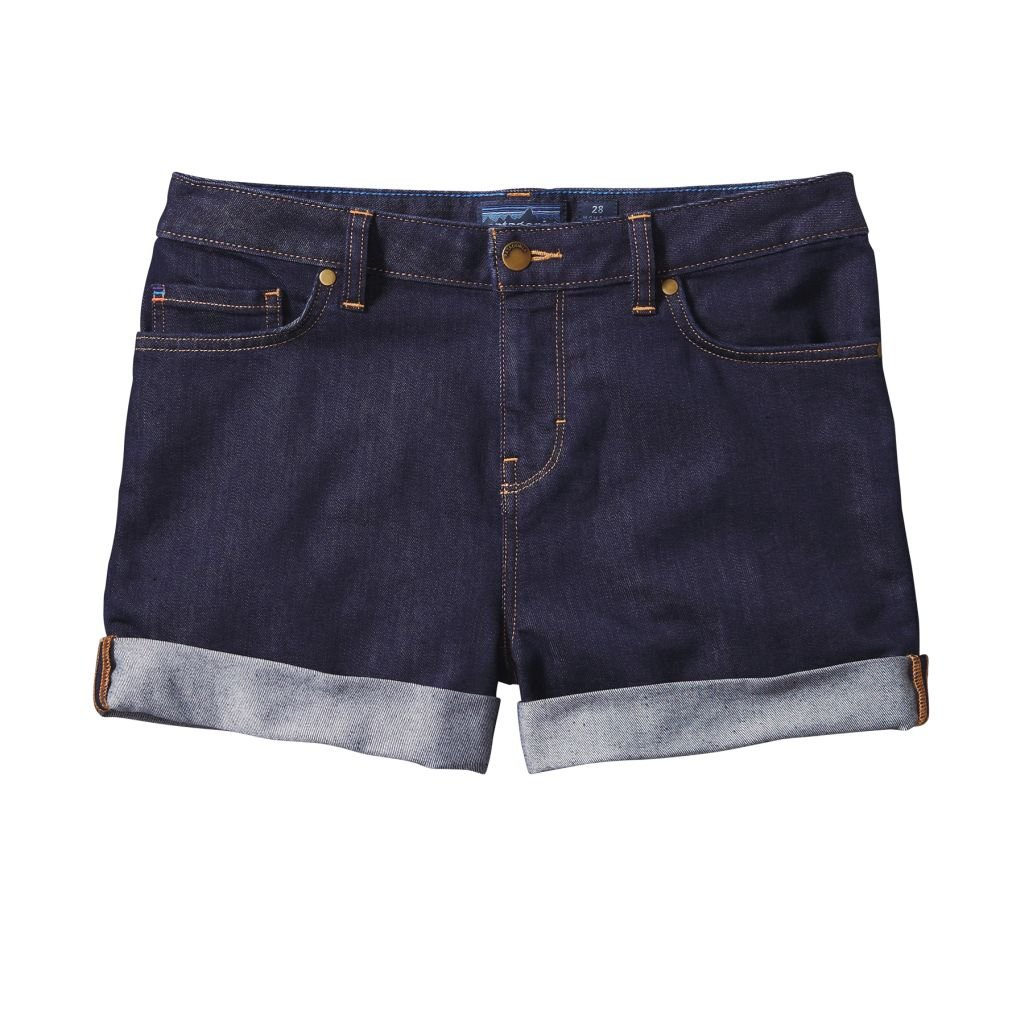Patagonia - Denim Shorts, color azul, talla 32