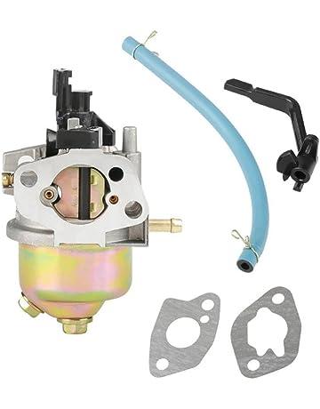 H127-2 163 cc Kit Carburador Carburador + 2 Juntas de Montaje + Tubo de