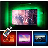 "USB TV Backlight LED Bias Lighting Kit For 24"" to 60 Inch Smart TV Monitor HDTV Wall Mount Stand Work Space - TV…"