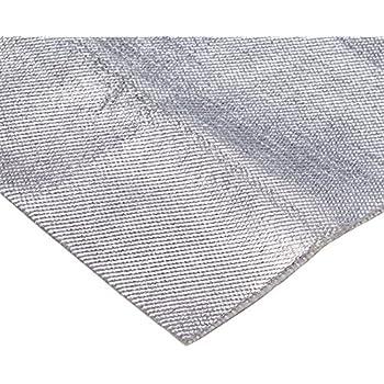 Aluminum & Fiberglass Heat Shield Barrier with Adhesive Backing 12
