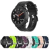 Pulseira Silicone 22mm compatível com Amazfit GTR 47mm - Stratos3 - Galaxy Watch 46mm - Gear S3 Frontier - Galaxy Watch 3 45m