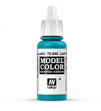 light turquoise paint warm vallejo light turquoise paint 17ml amazoncom 17ml toys games