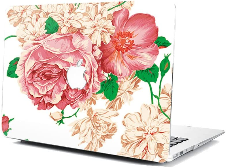 GSPSTORE MacBook Model A1534 Case,Flower Pattern Hard Shell Protector Cover for MacBook Pro 12 Model A1534 with Retina Display #05