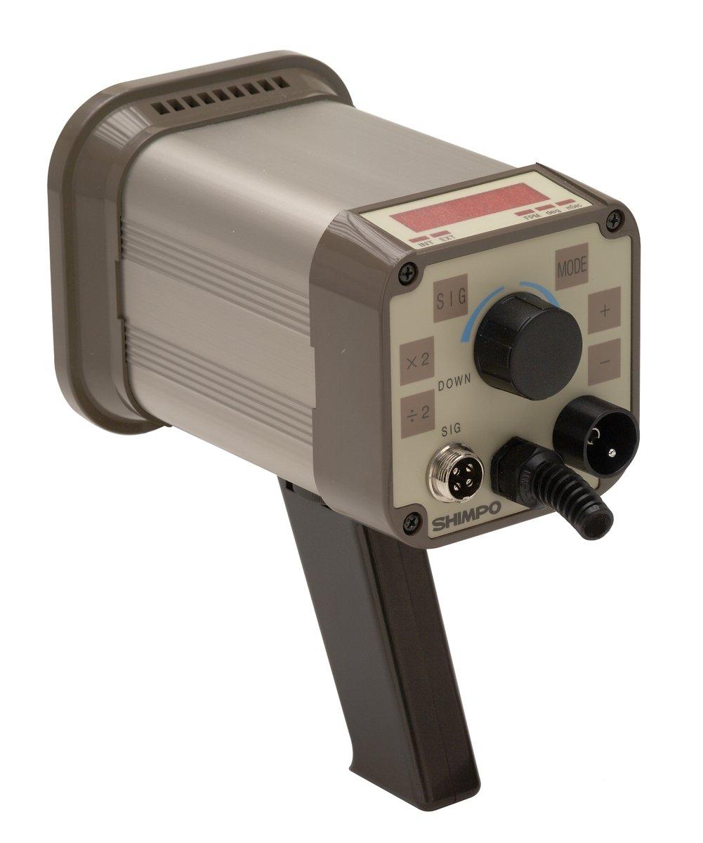 Shimpo DT-311A Digital Tachometer Stroboscope, LED Display, -0.01 Accuracy, 40.0-35000fpm Flashing Range by Shimpo