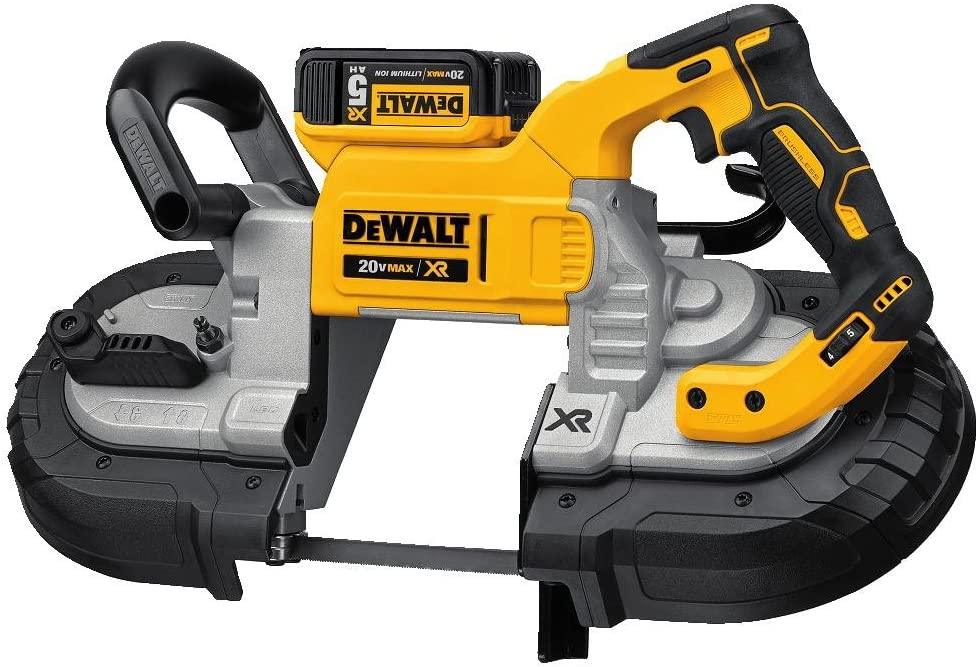 DEWALT 20V MAX Portable Band Saw Kit, Deep Cut DCS374P2