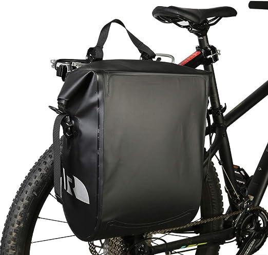 CARACHOME Alforja Bici, Alforjas Bicicleta Multifunción De 20 ...