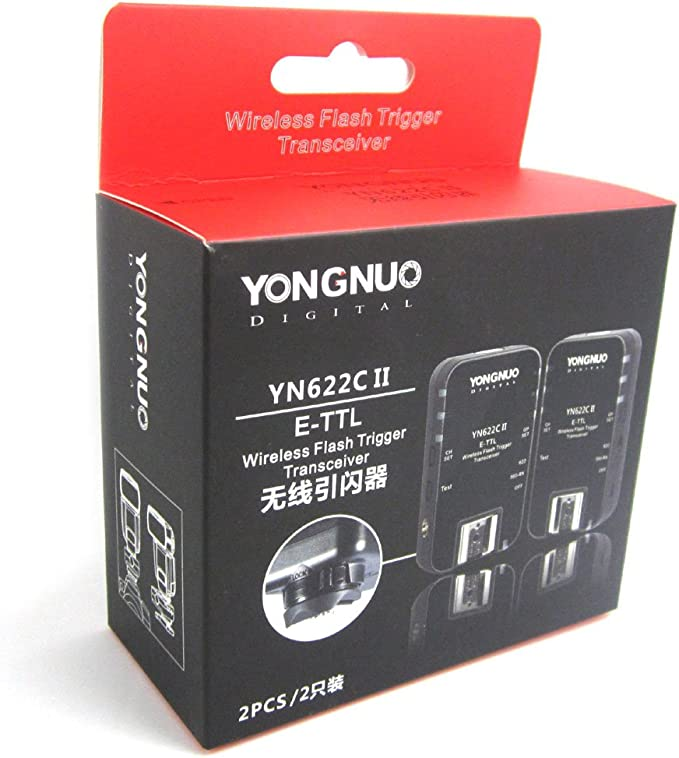 Yongnuo YN-622C II Wireless TTL E-TTL Flash Trigger Flash ...